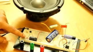 المكبر الصوتي TDA2003 - الجزء الاول