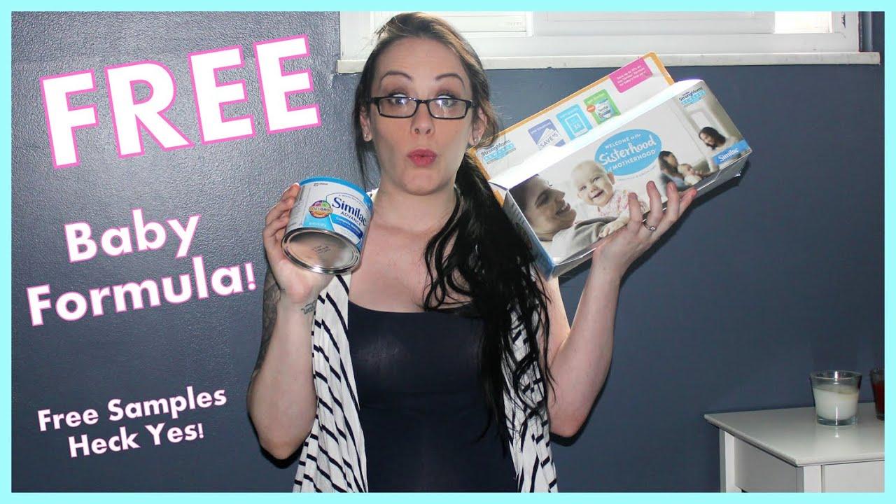 FREE FORMULA From Similac! - I love FREE Samples! - YouTube