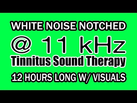 white-noise---notch-filtered-at-11-khz-for-tinnitus-therapy-w/-visuals