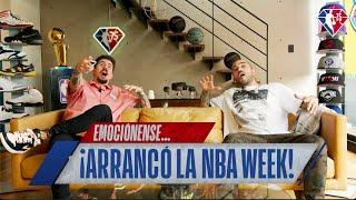 ¡Empieza lo bueno con la NBA Week!   NBA México