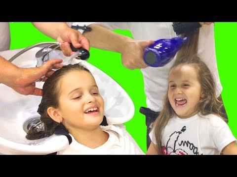 Kızlar Kuaförde Saçlarını Kestirdi | EvcilikTV