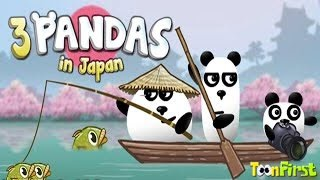 3 Pandas In Japan Walkthrough All Levels