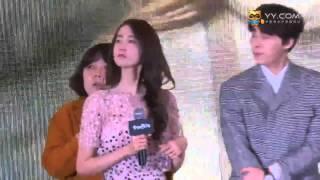 Yoona - Li YiFeng ''Please Contact Me 請跟我聯絡'' MV Press Conference