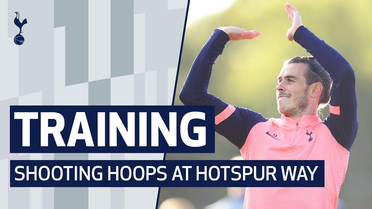 TRAINING | BASKETBALL TOURNAMENT | 🏀 Shooting hoops at Hotspur Way!