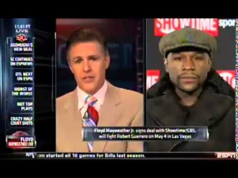 Floyd Mayweather talks Future Fight with Manny Pacquiao on SportsCenter from YouTube · Duration:  2 minutes 59 seconds
