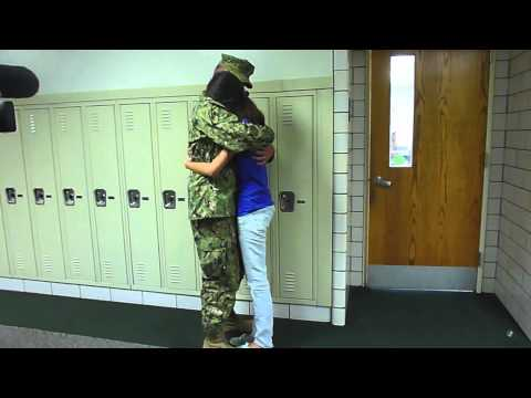 Fremd High School Student Surprised by Brother's Return from Afghanistan