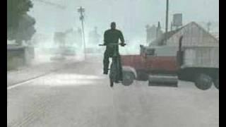 GTA San Andreas biciklis balaset