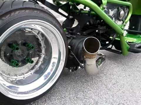 Dorbyworks custom honda ruckus gy6 exhaust - YouTube
