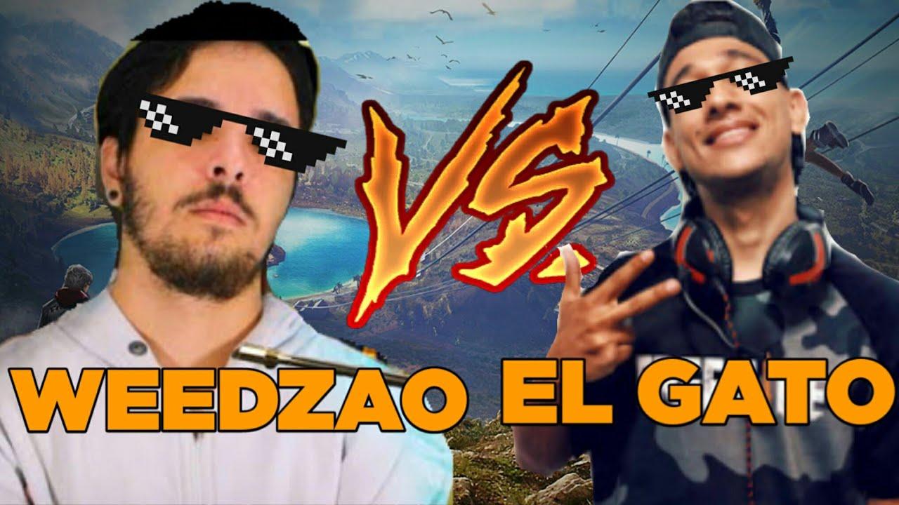 WEEDZAO VS EL GATO FREE FIRE MELHORES MOMENTOS
