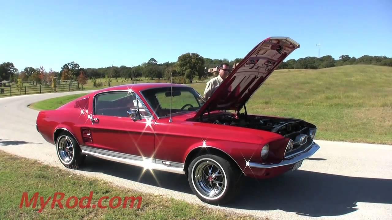 1967 Mustang GT 390 S Code Fastback Video 2
