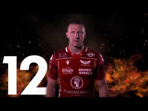 Scarlets team to face Cardiff Blues on 3rd of January 2020