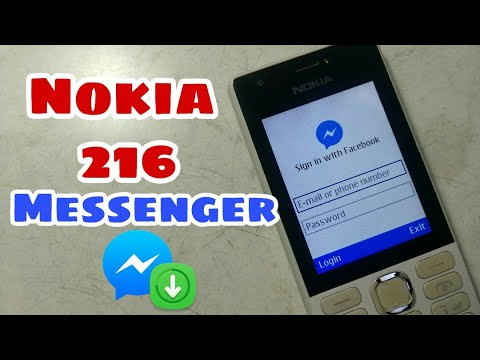 Downloading Facebook Messenger In Nokia 216 |Hindi|