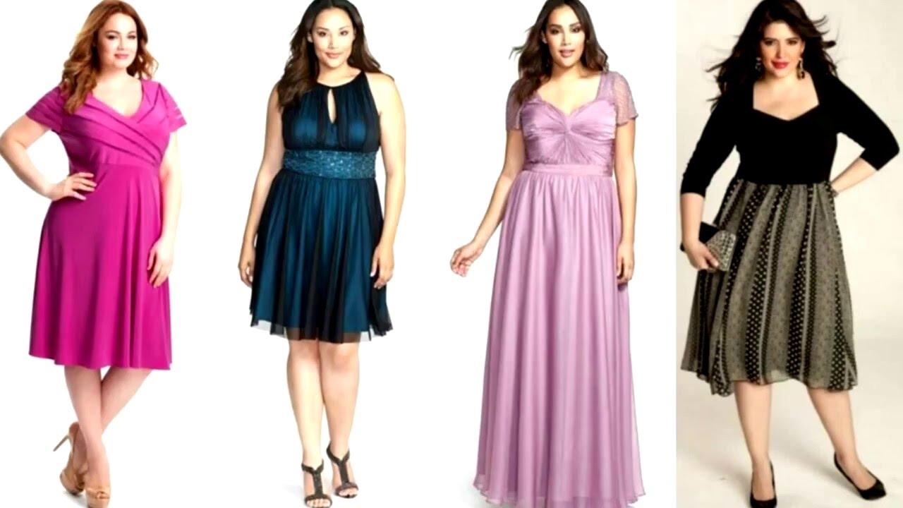 Estilo de vestidos para gorditas | Moda de vestidos para las ...