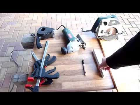 Heimwerker Sägen Arbeitsplatte Küche Selber machen Heimwerken, How ... | {Küchenarbeitsplatte verbinden 30}