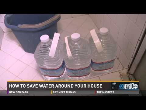 Waterwise simple ways to save water at home youtube for Ways to save water at home