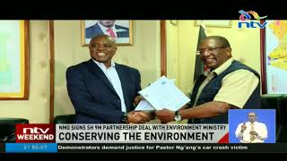 Nation Media Group signs sh 9m partnership deal with environment