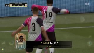 Fifa 19 - Fifa Ultimate Team Squad Battles - Jackson Martinez Goal 39th Minute