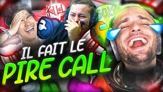 IL FAIT LE PIRE CALL ! 🤯 (Among Us)