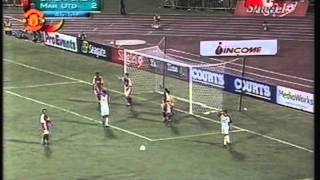 2001 (July 24) Singapore League XI 1-Manchester Unitd (England) 8 (Friendly)