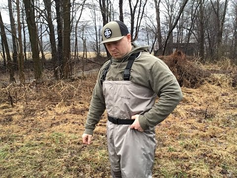 Native Trout Fishing With New Allen Company Waders