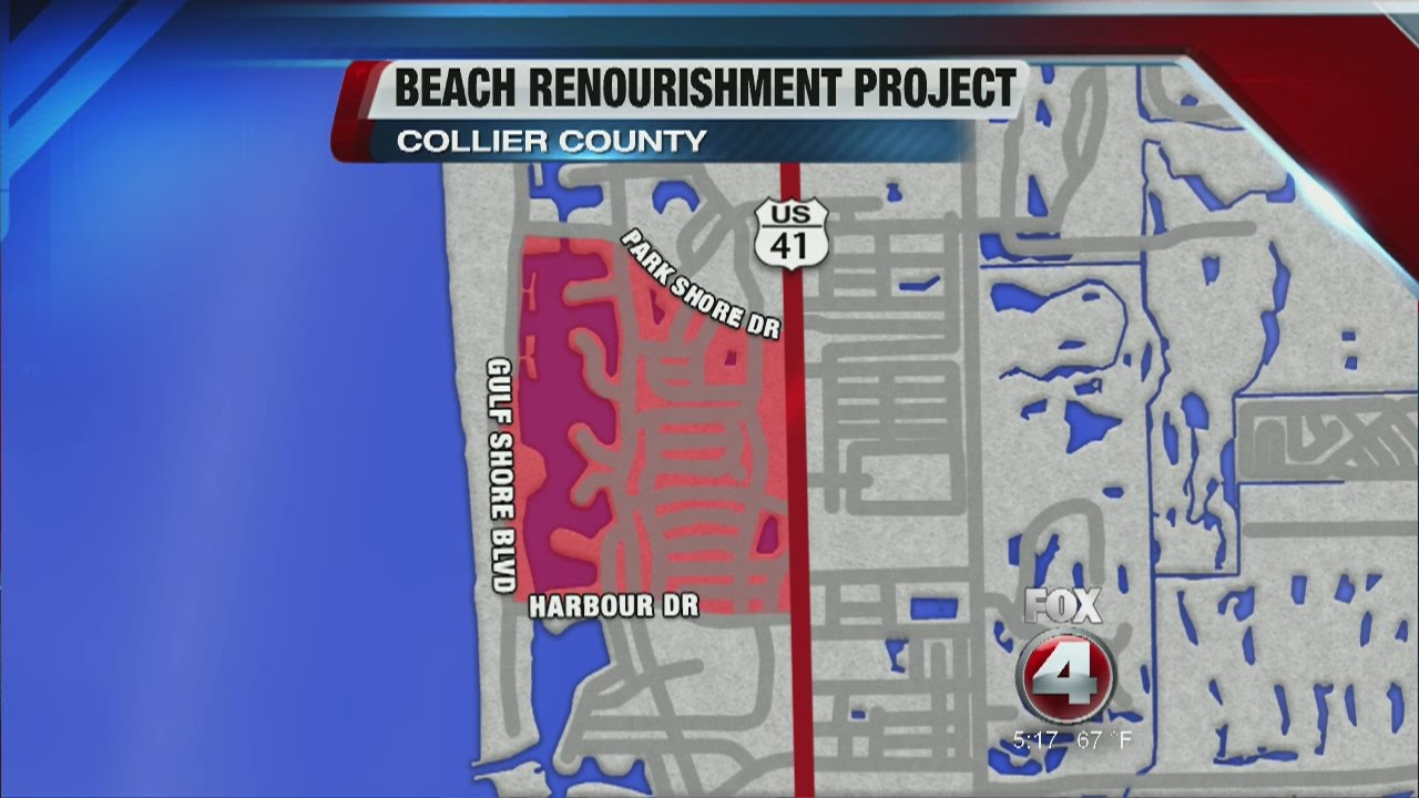 Park Shore Beaches Closed in Naples Florida