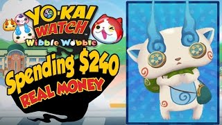 Yo-Kai Watch Wibble Wobble - Rewards For Spending $240 In REAL MONEY! [iOS Android Gameplay]