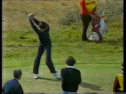 Seve Ballesteros.The Open.1979.15th-18th,last day.Royal Lytham St Annes.