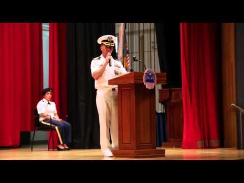 DLA Yokosuka, Japan Change of Command 2014