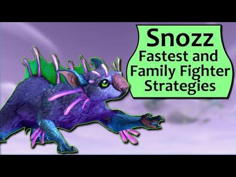Snozz Pet Battle