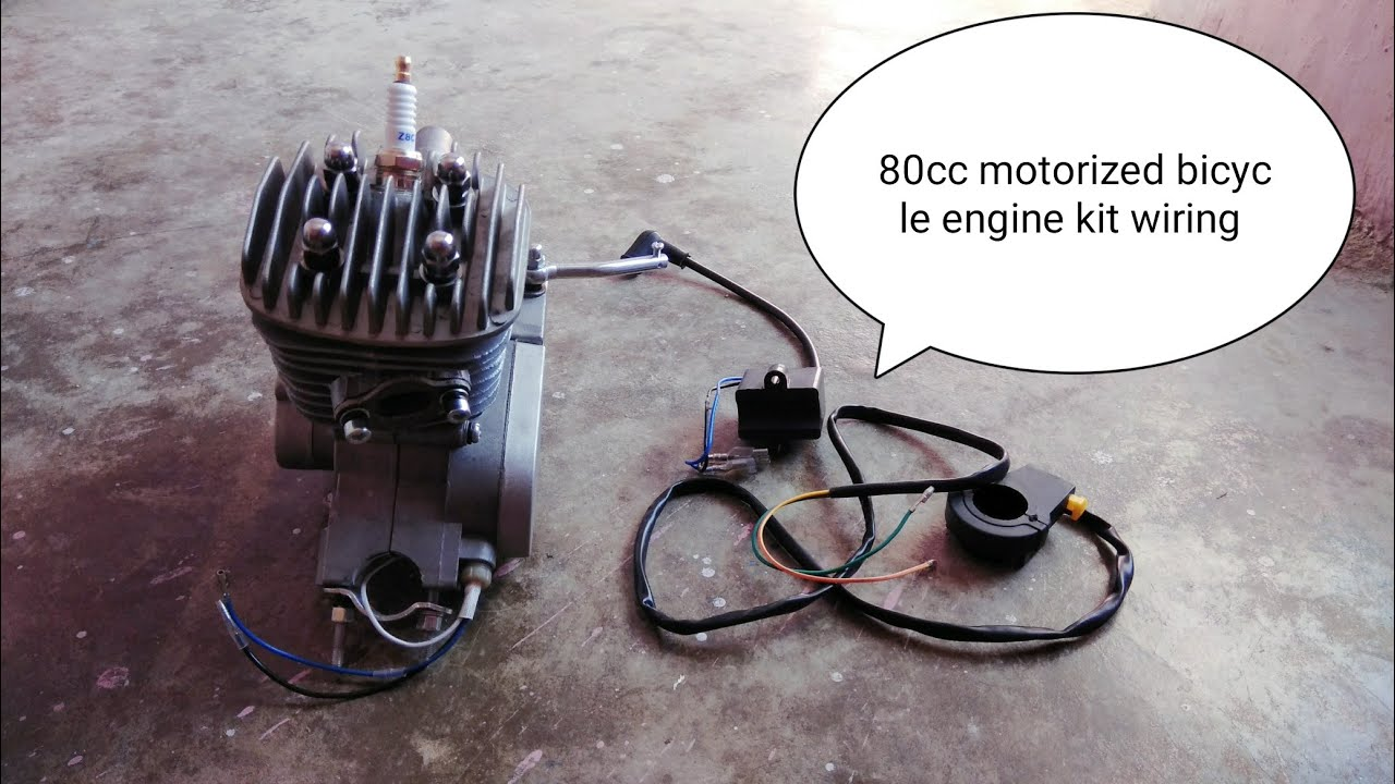 small resolution of 80cc motorized bicycle engine kit wiring installation