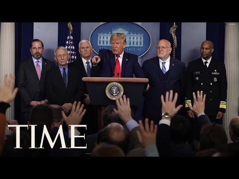 President Donald Trump and Coronavirus Task Force Hold Press Briefing | LIVE | TIME