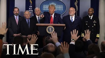 President Donald Trump and Coronavirus Task Force Hold Press Briefing   TIME