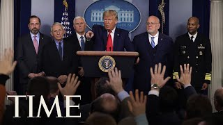 Download President Donald Trump and Coronavirus Task Force Hold Press Briefing | TIME Mp3 and Videos