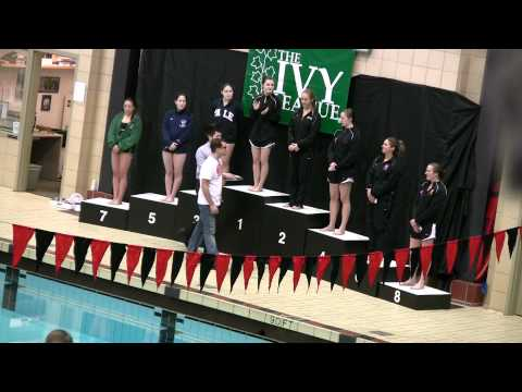 3-m Diving Award Ceremony 2011 Women's Ivy Champs