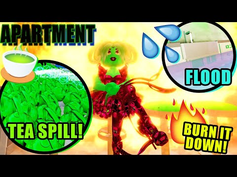 HOW To DESTROY YOUR APARTMENT In 3 EASY WAYS! Royale High Update Tutorial