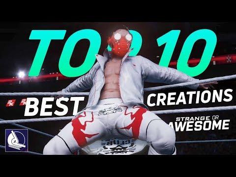WWE 2K18 Top 10 Best Finn Balor Custom attires! (Strange or Awesome!?)
