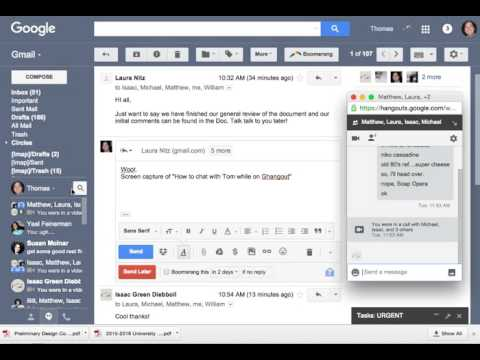 Gchat With Hangout