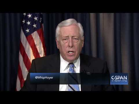 "House Minority Whip Steny Hoyer: ""I expect us to retake the House."" (C-SPAN)"