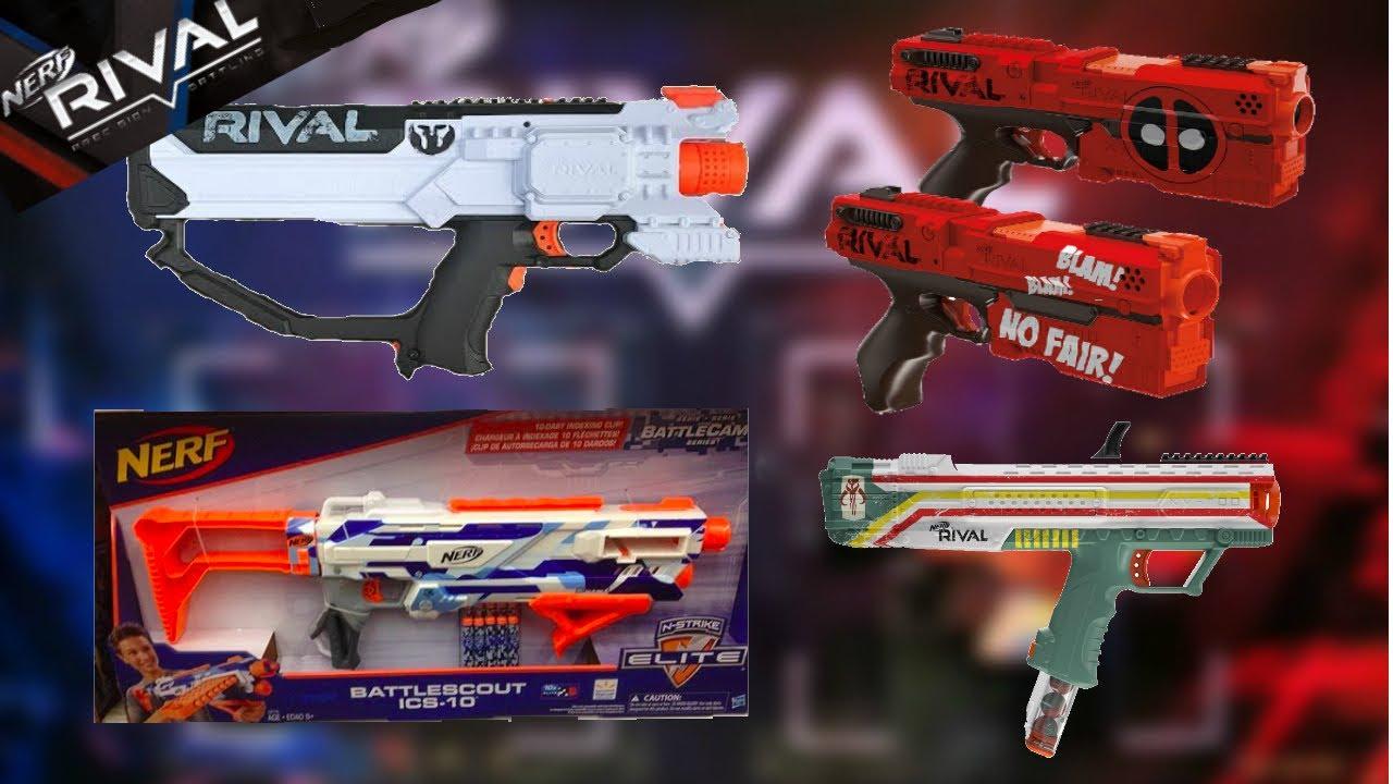 New nerf guns  rival