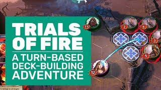 Trials Of Fire Gameplay | 23 Minutes of Decision Making and Turn-Based Strategy