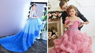 latest baby gown dress designs    Party Wear Dresses For Kids !!! trending now