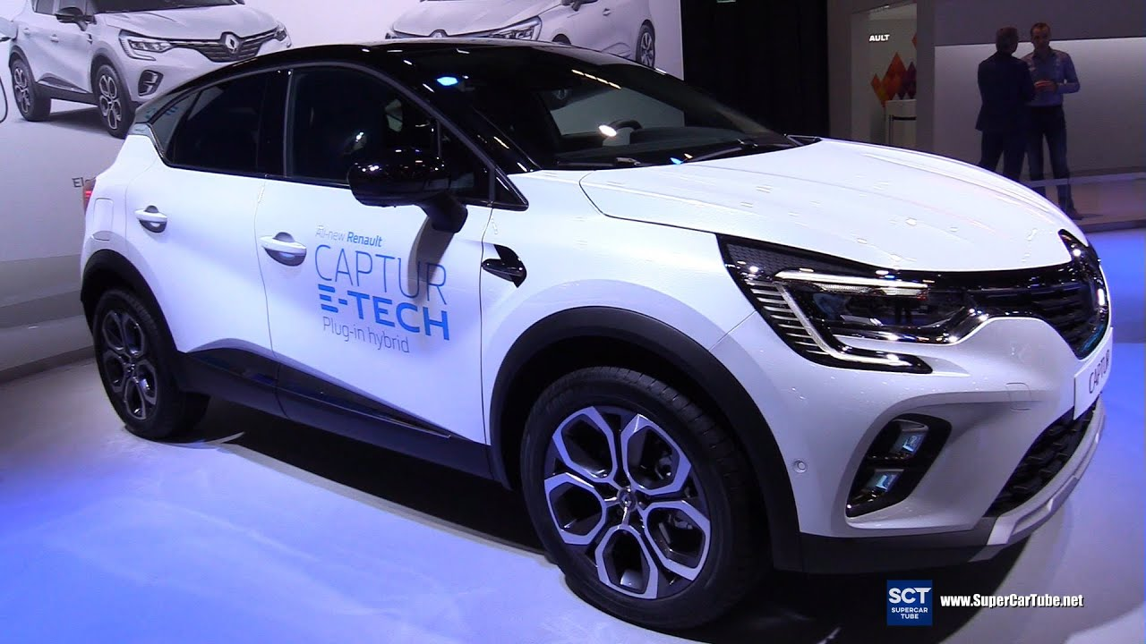 Renault Captur phiên bản Plug in Hybrid