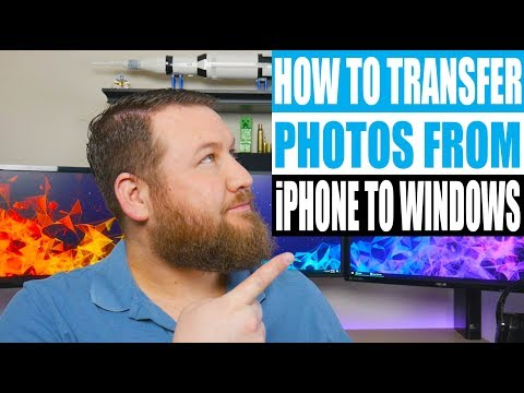 Learn How to Transfer Photos from iPhone to PC using these 5 different methods. Method #1: Using Win.