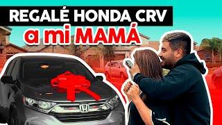 Regalé Carro a mi MAMA gracias al Internet - Honda CRV 2020!