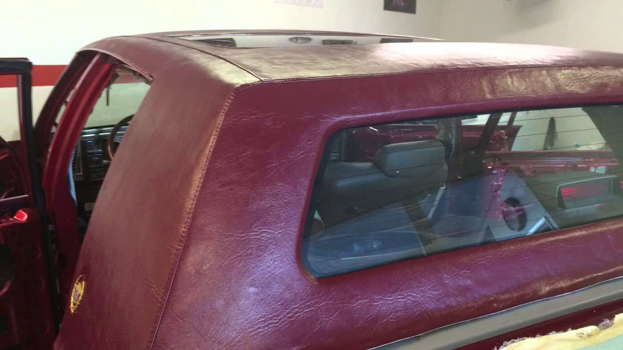 Pimpmobile Cadillac vinyl hardtop replacement - YouTube