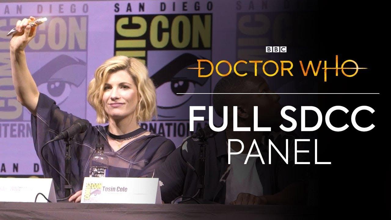 Doctor Who San Diego Comic-Con 2018 (Thirteenth Doctor)