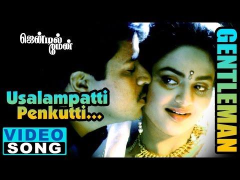 Usilampatti Video Song | Gentleman Tamil Movie Songs | Arjun | Madhu Bala | AR Rahman | Music Master