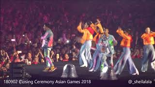 Download 180902 RAN - Pandangan Pertama - Inikah Cinta [LIVE @ Closing Ceremony Asian Games 2018] Mp3