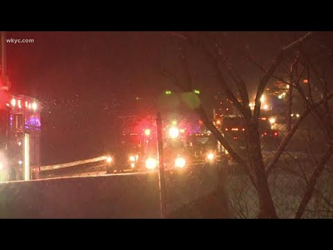 Portion of I-90 in Lake County closed in both directions due to crash