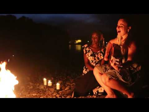 WILDBIRD at heart - original pop song by M. Fiedler - bonfire live recording w/ Jennifer Kamikazi